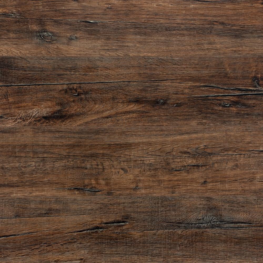 Panele winylowe podłogowe SPC z podkładem IXPE - Kolor: Dąb Ciemny