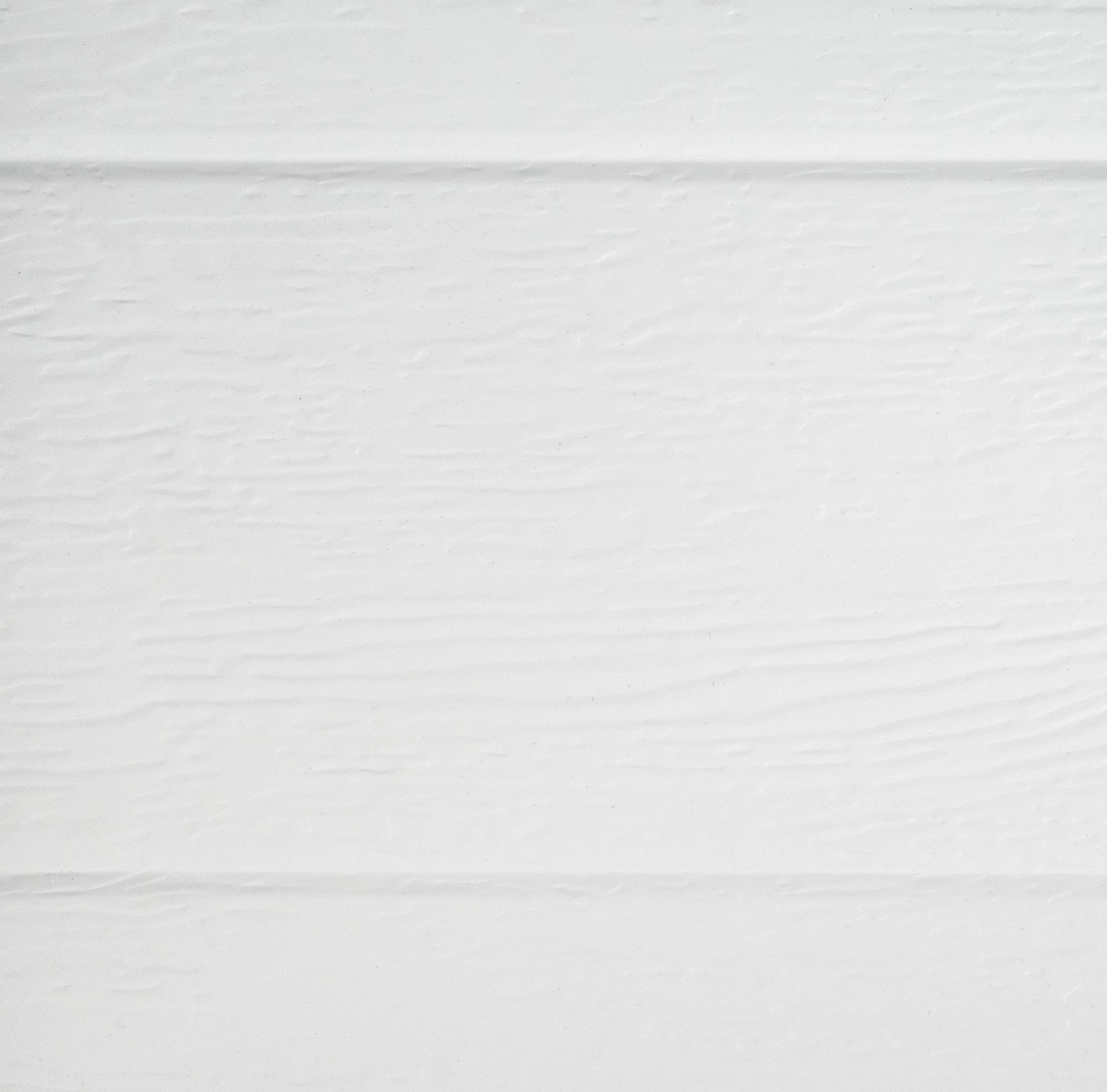 Biała ocieplona brama segmentowa
