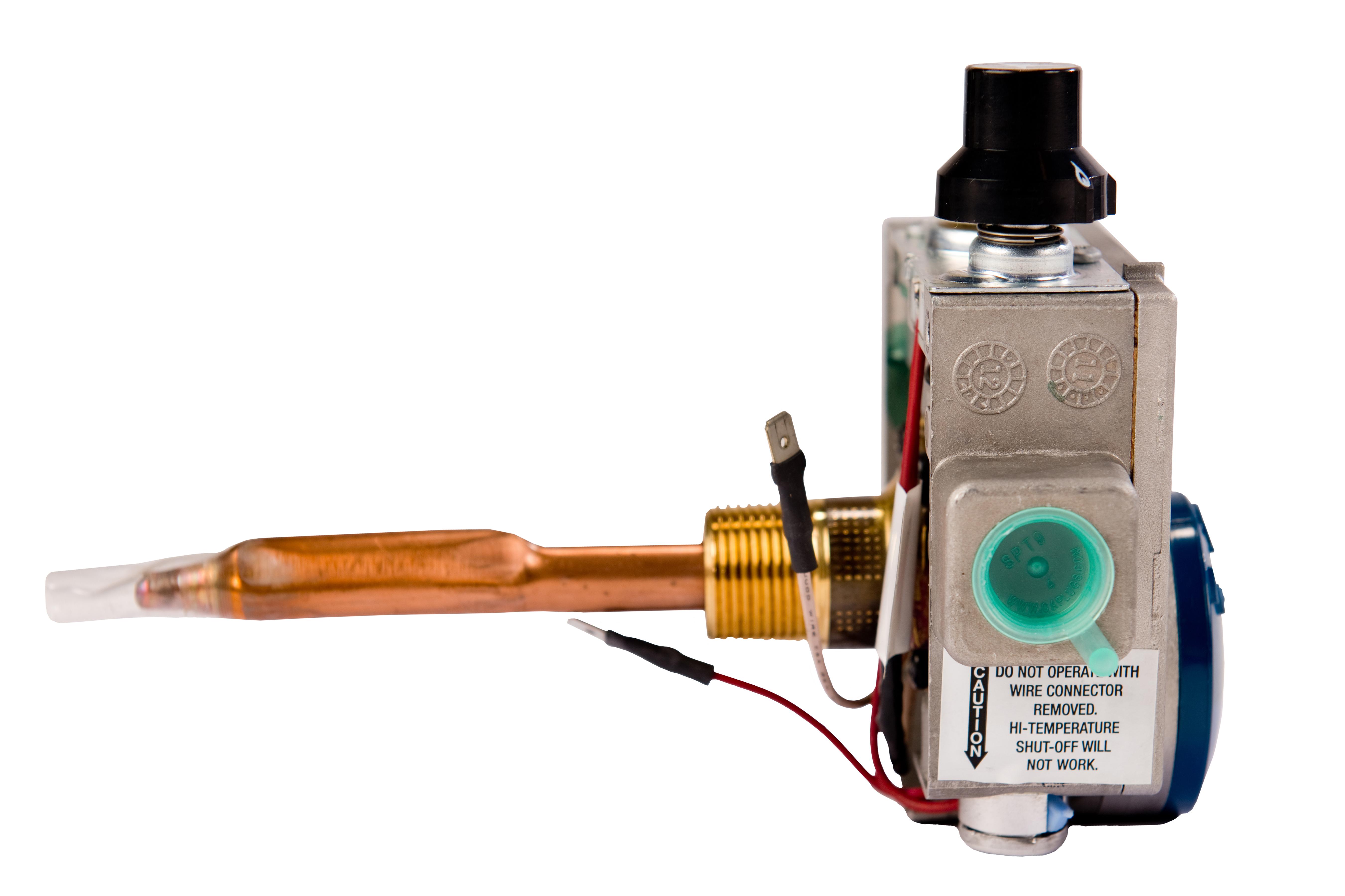 Termostat pomaga regulować temperaturę wody w zbiorniku pojemnościowym gazowym Americanos